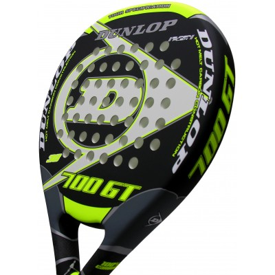 Pala de pádel Dunlop 700 GT LTD Yellow