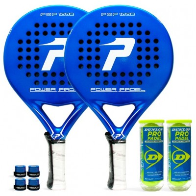 Pack Duo Power Padel Blue Energy 1002