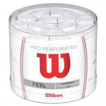 Tambor 60 Overgrips Wilson Pro Blanco Perforado