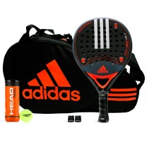Pack Adidas Essex Carbon Control 1.7 Orange + Paletero Control