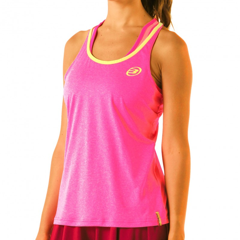 Camiseta Bullpadel Vistola Fucsia