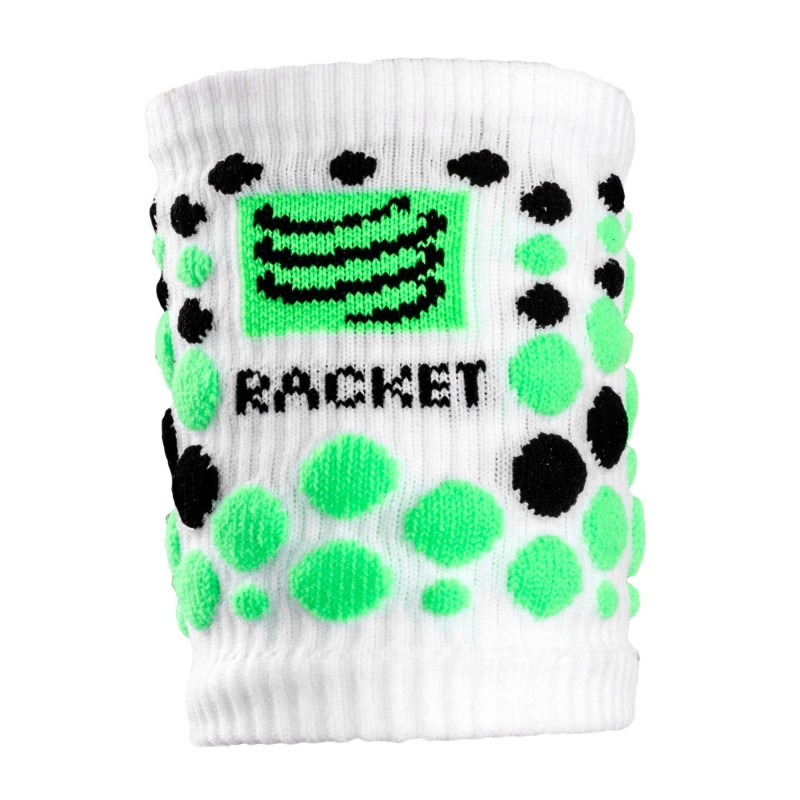 Muñequeras Compressport Racket Blanca