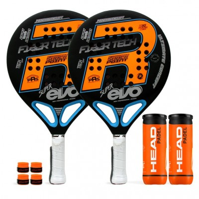Pack Duo Royal Padel Super Evo Orange