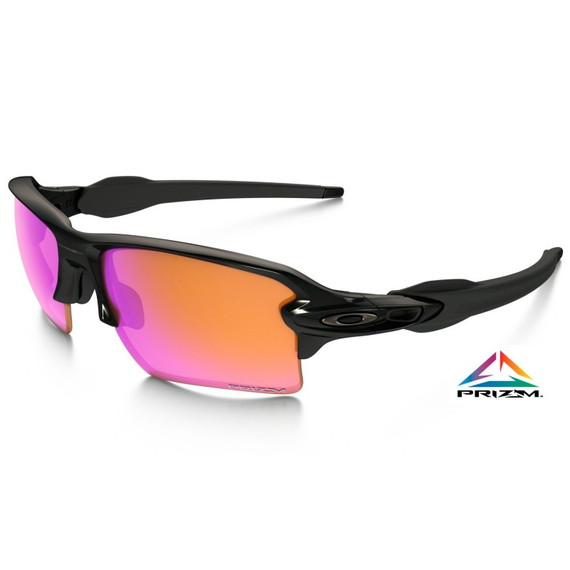 Gafas Oakley FLAK 2.0 XL Polished Black - Prizm Trail 918806