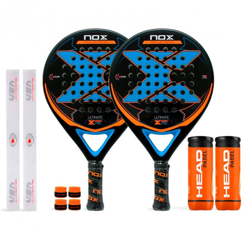 Pack Duo Nox Ultimate Carbon Pro