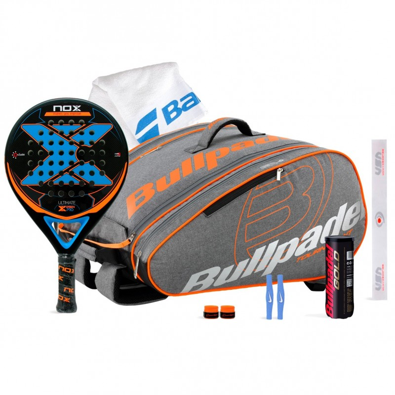 Pack Nox Ultimate Carbon Pro + Bullpadel 17005 Big