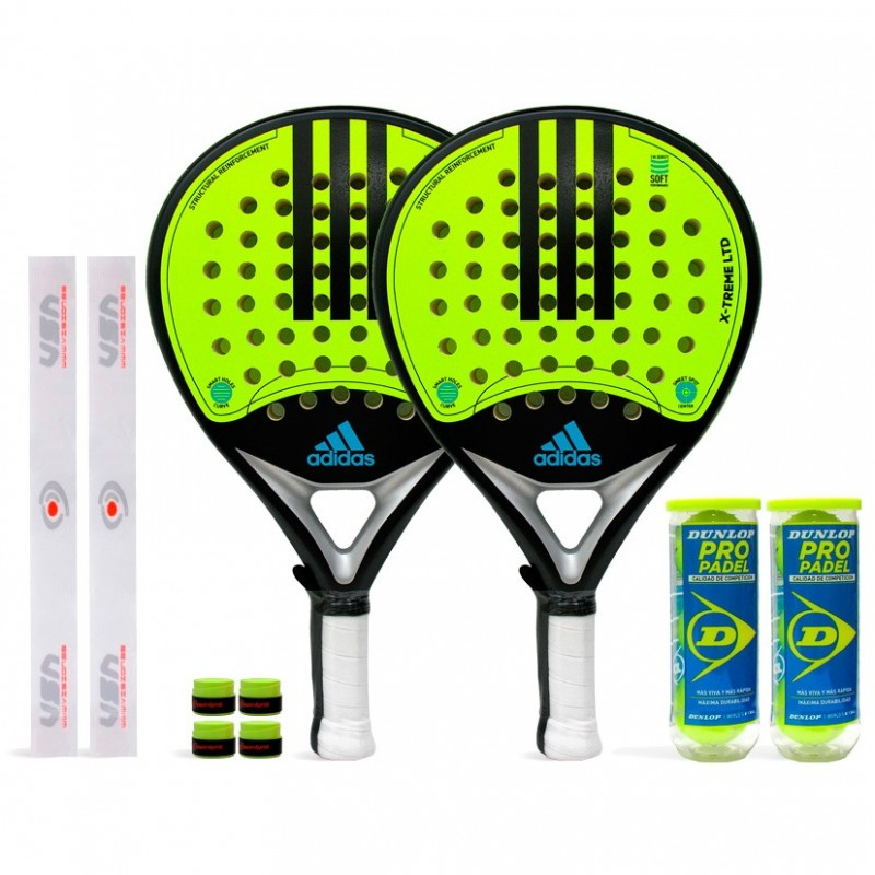 Pack Duo Adidas X-Treme LTD Yellow