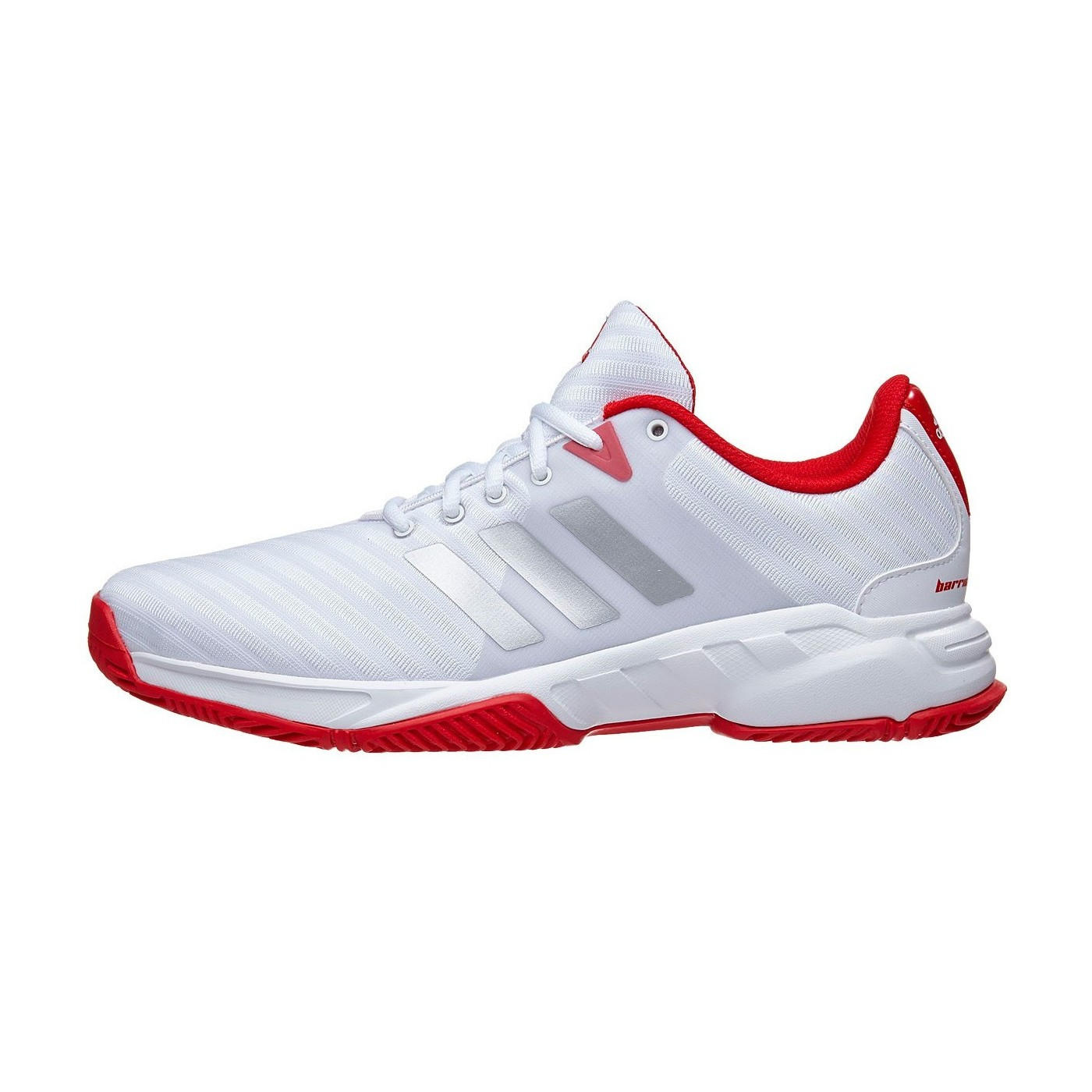 huge selection of c6c2f 92106 Zapatillas Adidas Barricade Court 3 Blanco  Rojo