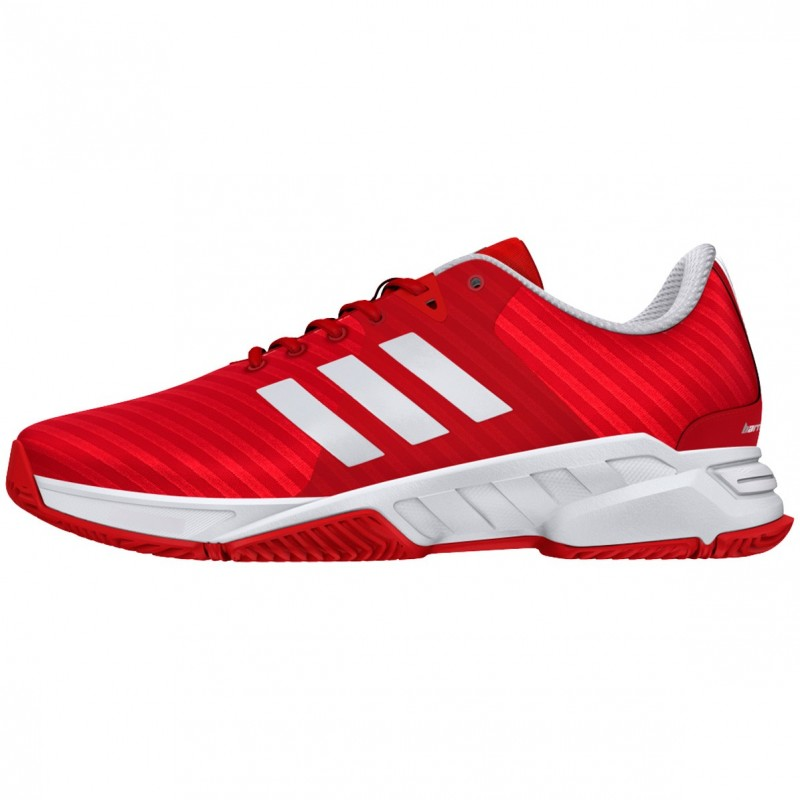 Zapatillas Adidas Barricade Court 3 Rojas