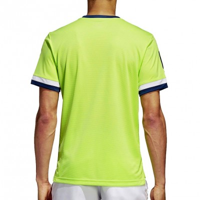 Camiseta Adidas Club Tee 3 Stripes Amarillo Lima