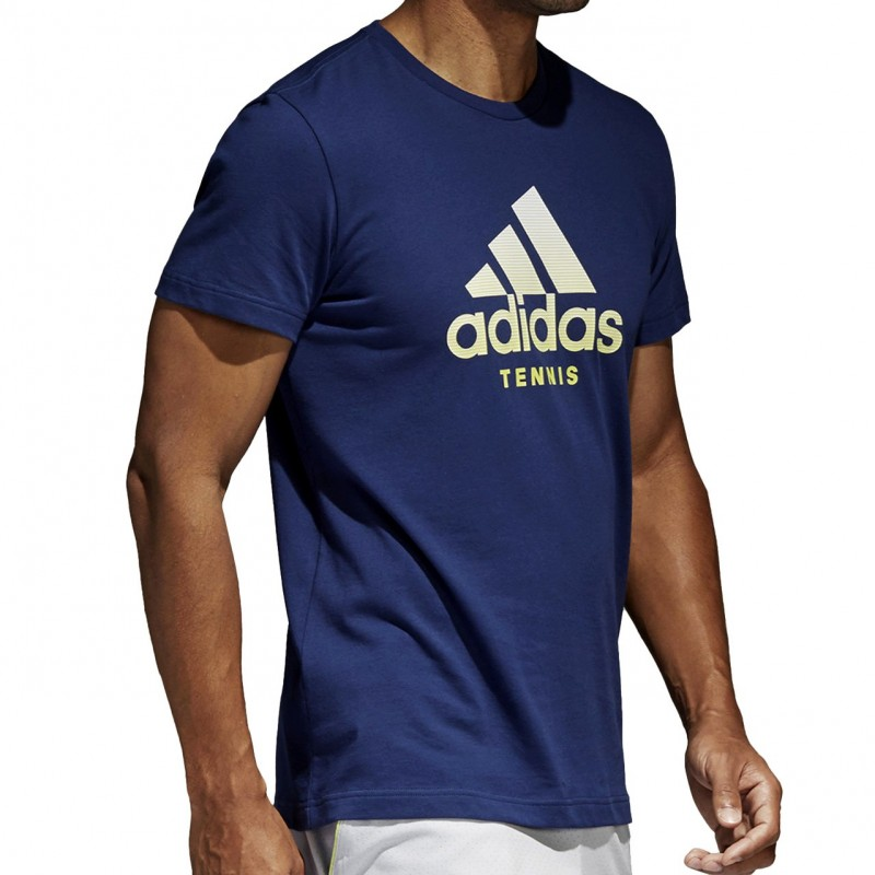 Camiseta Adidas Category Azul