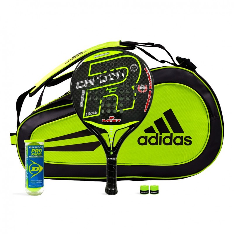 Pack Royal Padel M27 Yellow + Paletero Adidas Supernova