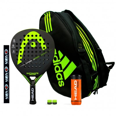 Pack Head Ultimate Power Yellow + Adidas Control