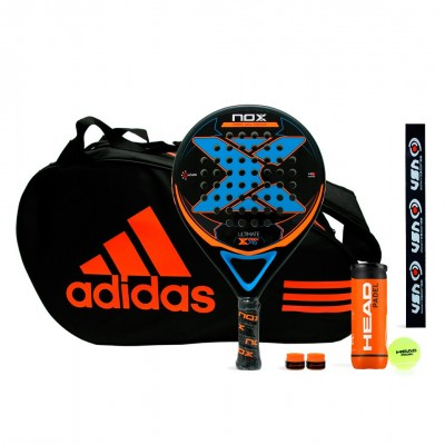 Pack Nox Ultimate Carbon Pro + Adidas Control Orange