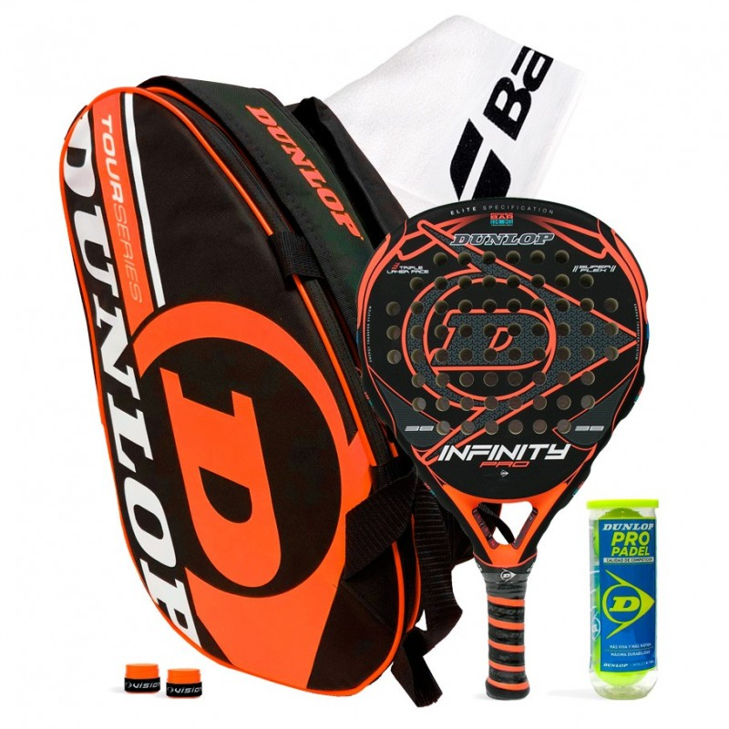Pack Dunlop Infinity Pro Orange + Paletero Intro Tour