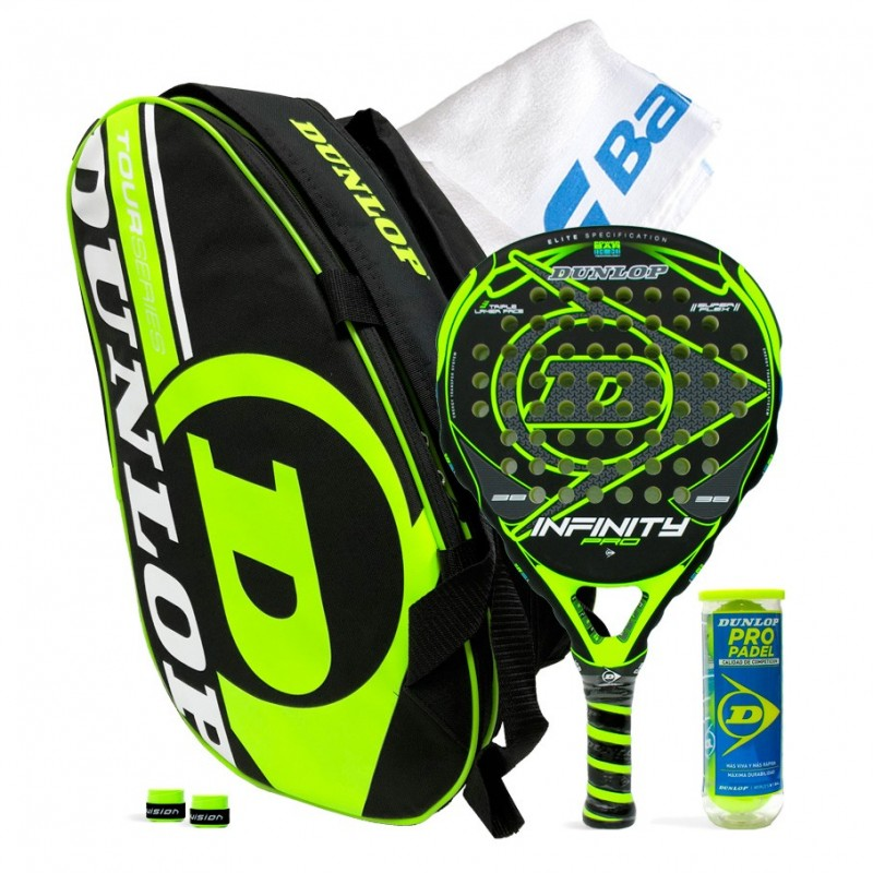 Pack Dunlop Infinity Pro Yellow + Paletero Intro Tour