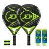 Pack de pádel Duo Dunlop Thunder Superflex