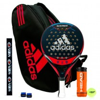 Pack Adidas X5 Ultimate Red + Paletero Control