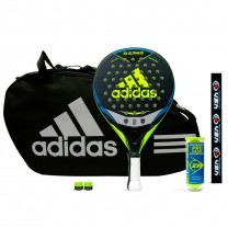 Pack Adidas X5 Ultimate Yellow + Paletero Control