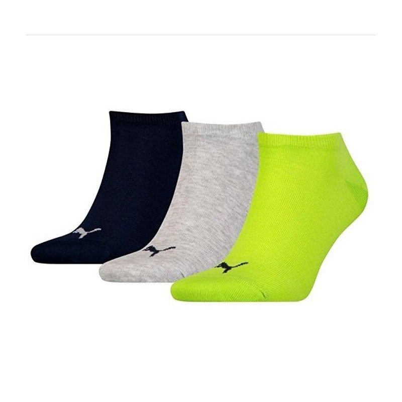 Pack de 3 pares de calcetines Puma Sneaker