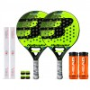 Pack Duo Bullpadel Supreme Yellow