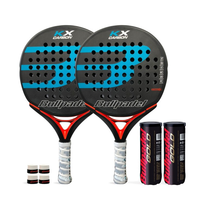 Pack Duo Bullpadel KX Carbon Blue