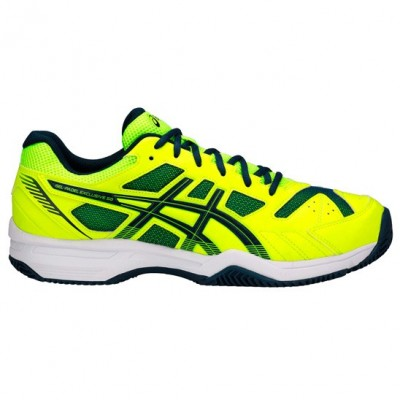 Asics Gel Pádel Exclusive 4 SG Safety Yellow 2018