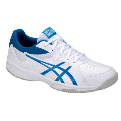 Zapatillas Asics Court Slide Clay White / Race Blue