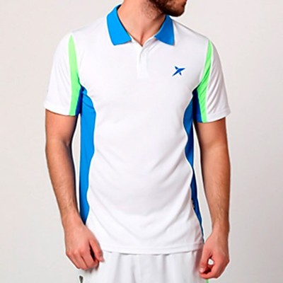 Polo Drop Shot Drive Azul