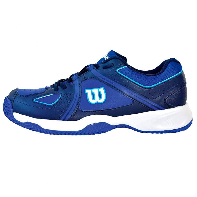 Zapatillas Wilson Nvision Envy Clay Court Azul / Negra