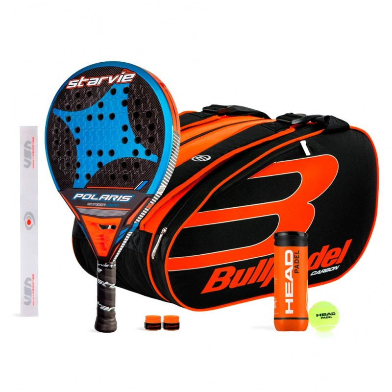 Pack StarVie Polaris Soft + Bullpadel 18004