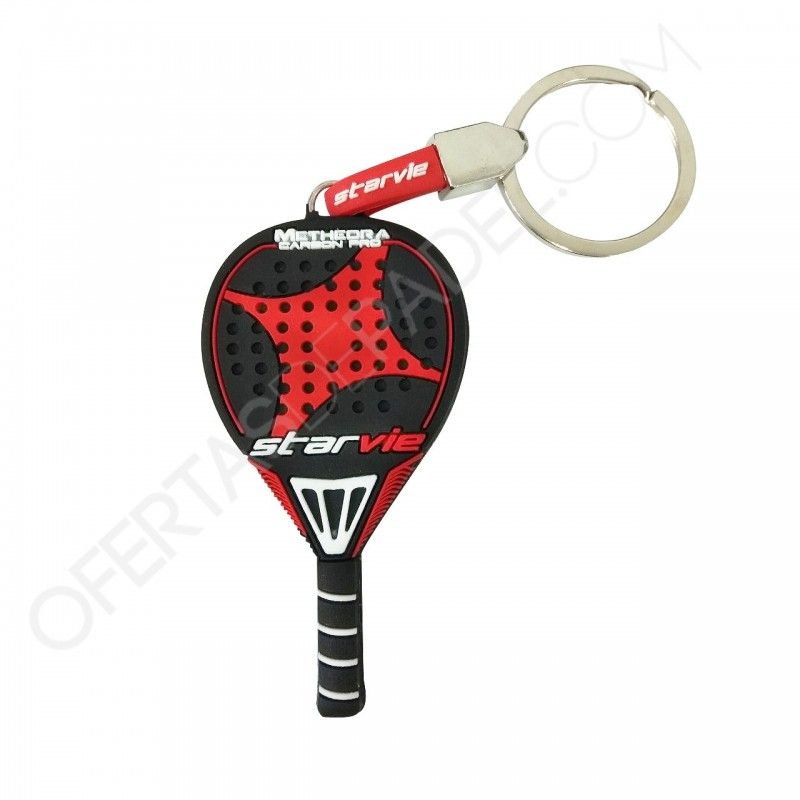 Keychain in the shape of a pala Starvie Metheora Carbon Pro