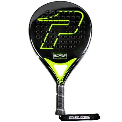 Pala Power Padel Black Brillo II