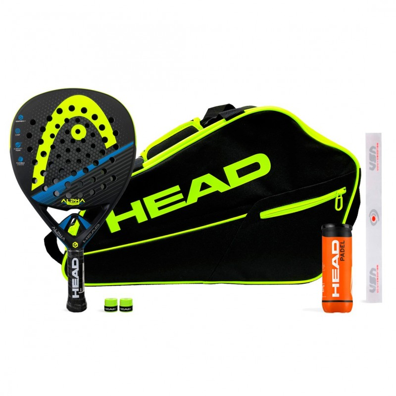 Pack Head Graphene XT Alpha Ultimate Yellow + Paletero Core