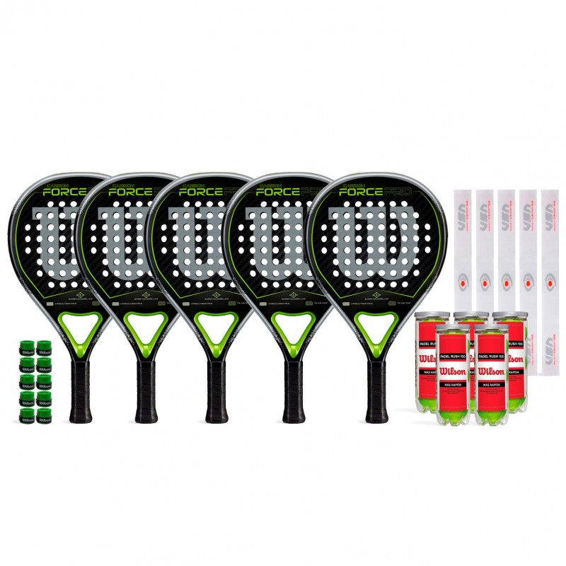 Super Pack Amigos Wilson Carbon Force Pro
