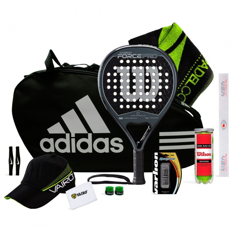 Pack Wilson Carbon Force Pro 2019 + Adidas Control