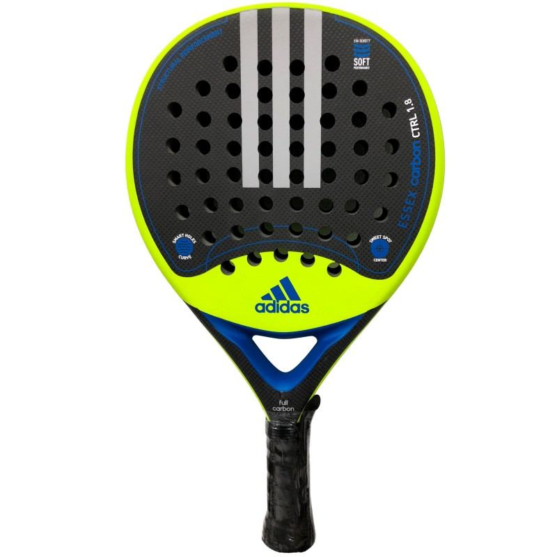 Pala Adidas Essex Carbon Control 1.8 Lime Rugosa