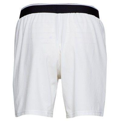 Pantalón corto Adidas Club white 7 SW trasera