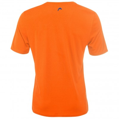 Camiseta Head Basic Tech Naranja