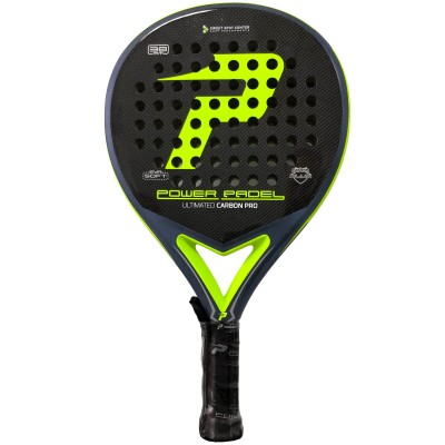 Pala Power Padel Ultimated Carbon Pro Green / Blue