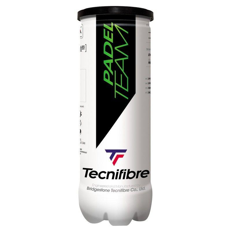 Bote 3 pelotas Tecnifibre Padel Team