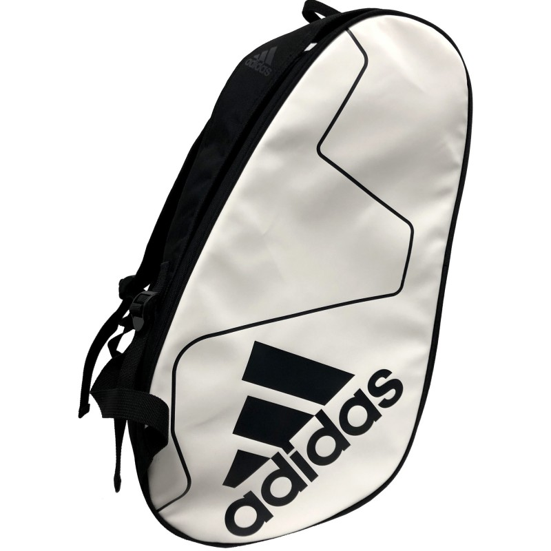 puesta de sol frijoles ranura  Adidas Racket Bag Carbon Control White