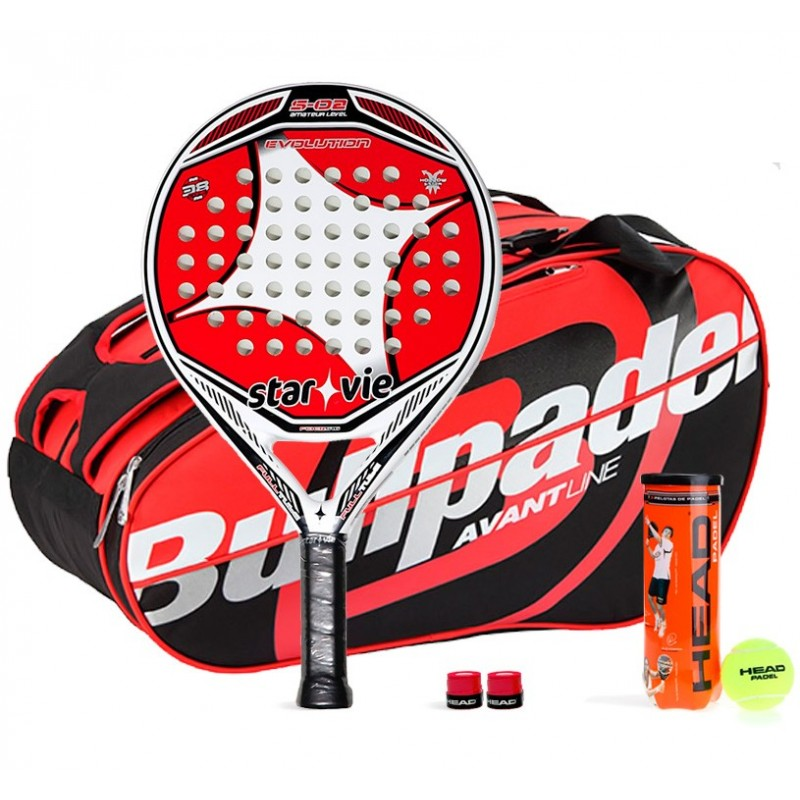 Pack Star Vie Evolution S02 + Paletero Bullpadel 16004