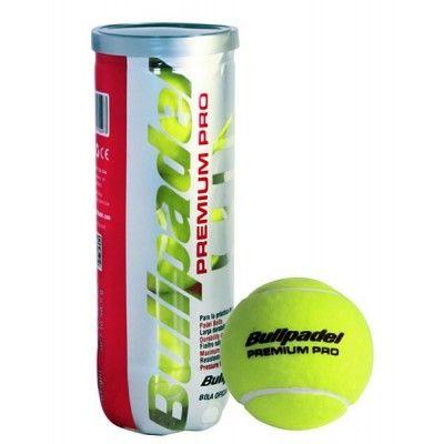 Bote 3 pelotas de pádel Bullpadel Premium Pro