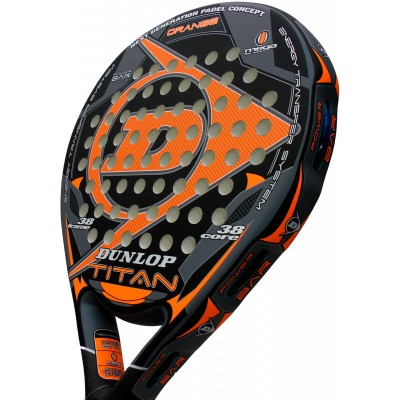 Pack de pádel Duo Dunlop Titan Orange