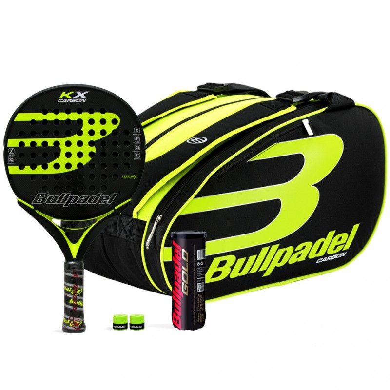 Pack Bullpadel KX Carbon + Paletero 17004