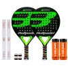 Pack Duo Bullpadel X-Compact LTD Green