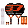 Pack Duo Bullpadel X-Compact LTD Orange