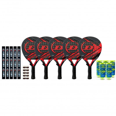 Super Pack Amigos Dunlop Impact X-Treme Red