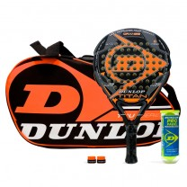 Pack Dunlop Titan Orange + Paletero Tour Intro